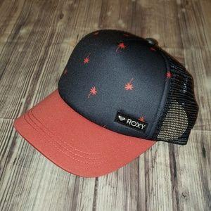 Roxy Dress Blues Palmito mesh snap back hat
